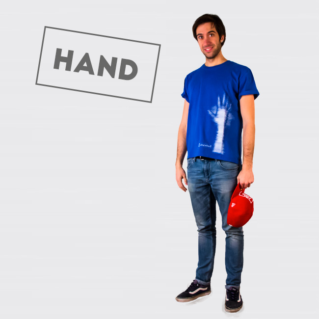 clapsted t-shirt Hand