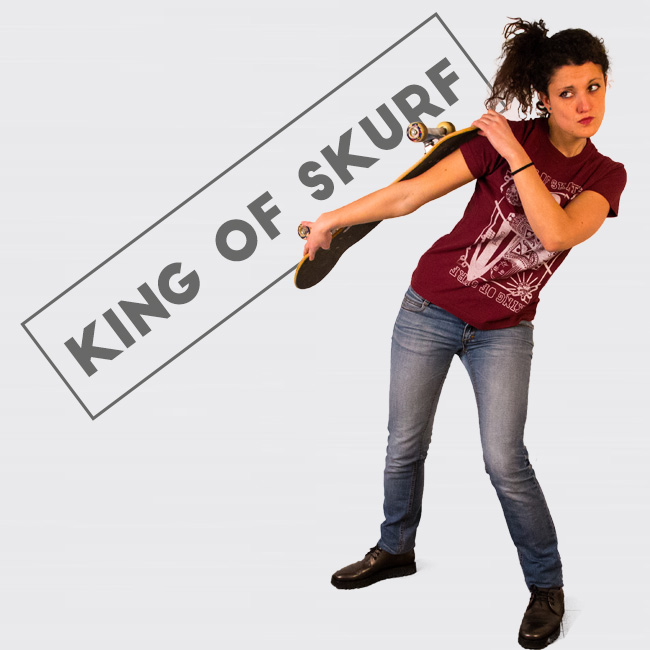 Clapsted t-shirt King of Skurf