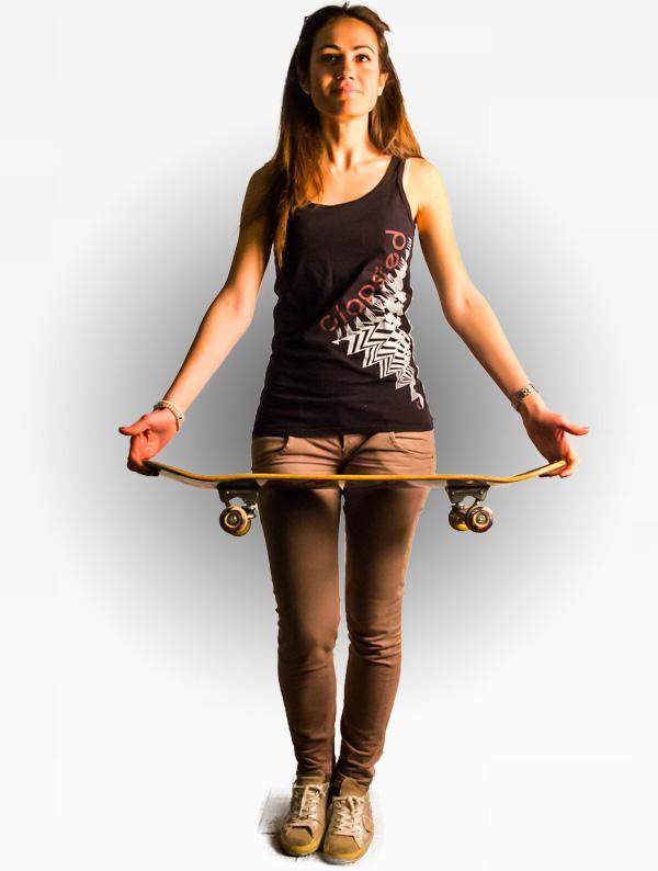 maglietta surf bmx skateboard abbigliamento sportivo