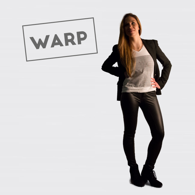 clapsted t-shirt Warp